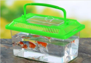 Oferta Pecera Plastico Para Animales Pequeños 17.5x10.5x11cm