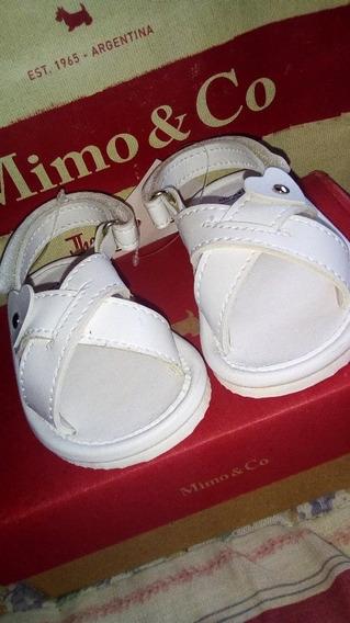 Sandalias Mimo &co Blancas