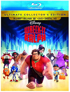 Blu-ray 3d : Wreck-it Ralph (3d) (with Dvd, With Blu-ray...