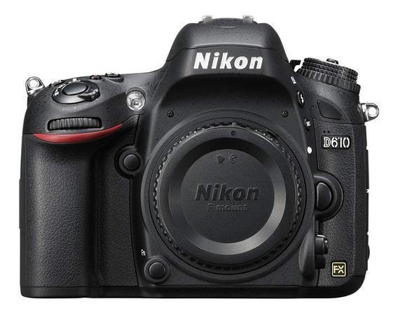 Câmera Nikon Dslr D610 ( Somente Corpo ) Pronta Entrega + Nf