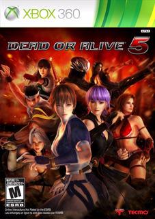 Dead Or Alive 5 Xbox 360 Usado Blakhelmet C