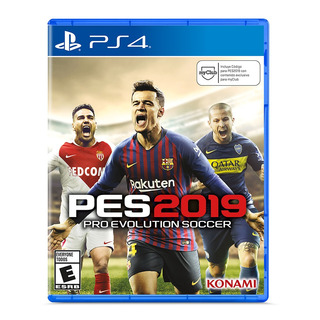 Juego Para Playstation 4 Ps4 Pes2019 Pre Evoution Soccer 20