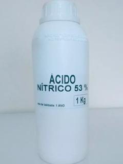 Nitrico 53% 1lt + Cloridrico 37% + Metabissulfito 1kg