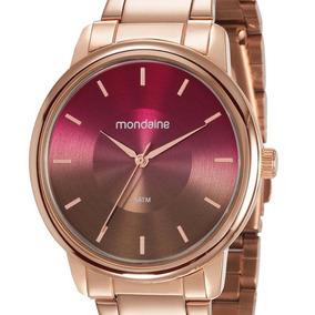 Relógio Mondaine Feminino Rosê 53606lpmvre8 Original+ Nfe
