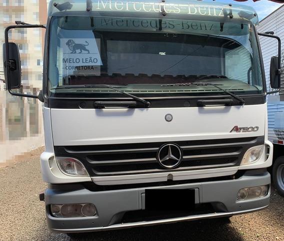 Mb Atego 2425 - 08/09 - Truck, Carroceria De Madeira