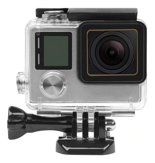 Caixa Estanque Gopro Go Pro Case Mergulho Hero 4 Black