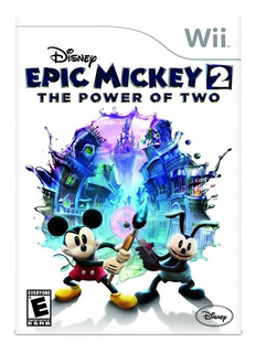 Epic Mickey 2 The Power Of Two Nintendo Wii Nuevo