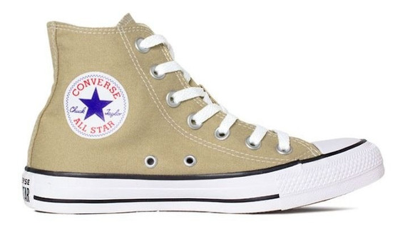 Tênis Converse All Star Caqui Ct04190039 Original C/nota