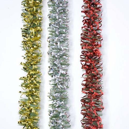 Guirnalda Navidad Rulo Súper Color C/ Verde 5 Cm X 2 M #1345