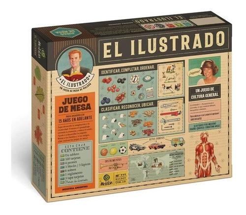 Juego De Mesa El Ilustrado Maldon 7203