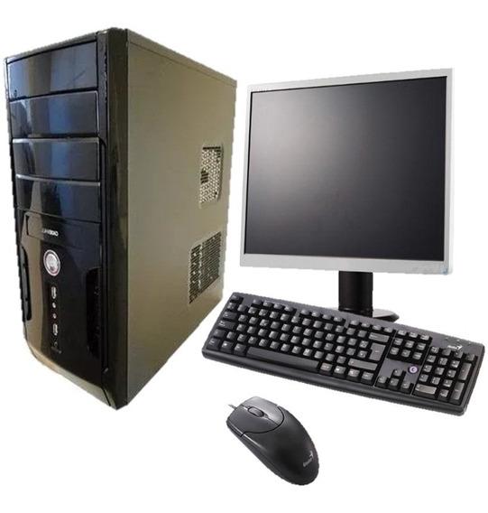 Computador Completo Novo Core 2 Duo + Brinde 1 Ano Garantia