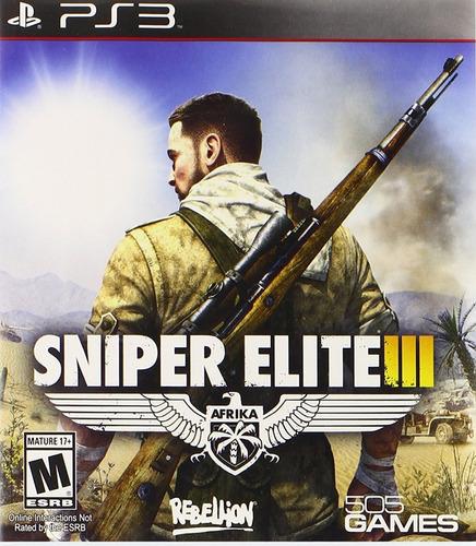 Sniper Elite 3 Juego Digital Ps3