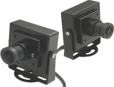 Micro Câmera Quadrada Ccd Color