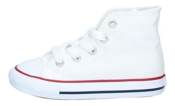 zapatillas niño converse blanco alta