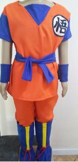 Fantasia Dragon Ball Z Infantil Completa C/ Botas!!!
