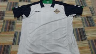 Camisa Seleção Irlanda Do Norte Mega Rara