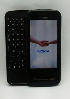 Celular Nokia C6-00 N-series Black Teclado Deslizante