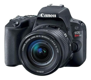 Canon EOS Rebel T7 18-55mm IS II Kit DSLR preta