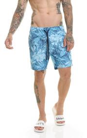 Bermuda Shorts Premium Praia Passeio Água Slim Fit Offert
