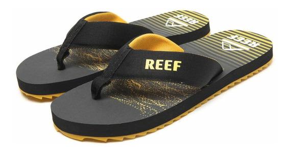 Chinelo Reef Mc Clurg Preto 100% Original