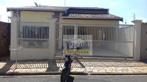 Casa Com 3 Dormitórios À Venda, 188 M² - Vila Carlota - Sumaré/sp - Ca4415