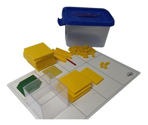 Imagen 1 de 3 de Ingeniacrea: Cubos De Base 10 C/cubo Transparente Y Tablero