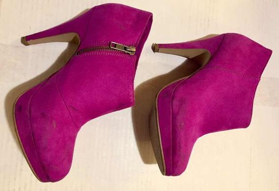 Botas H&m Violetas Nro 36