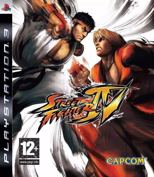 Street Fighter Iv Ps3 - M. Física