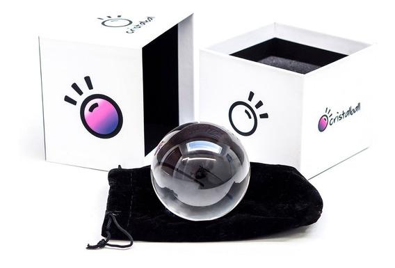 Bola De Cristal Lente Cristalball Original 80mm Lensball Lens Ball P/ Fotografia +nf