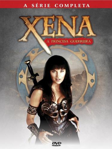 Imagem 1 de 1 de Xena A Princesa Guerreira - Série Completa - Box Com 24 Dvds