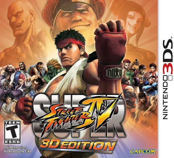 Jogo Super Street Fighter Iv 3d Edition - Nintendo 3ds