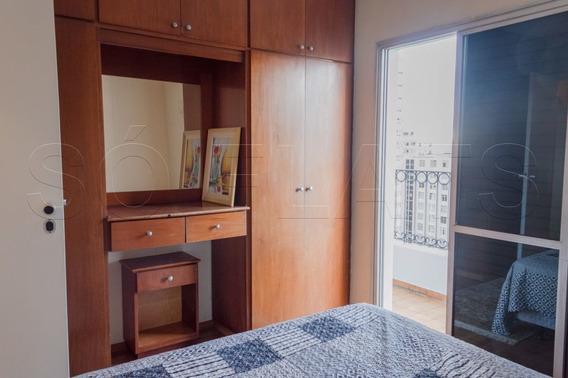 Próximo A Rua Oscar Freire, Flat De 02 Dormitório, Para Morar Ou Investir - Sf27382