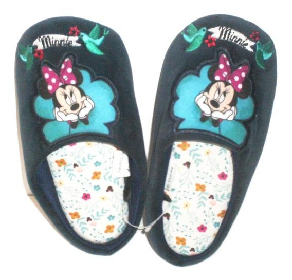 Pantufla Descanso Dama Minie Mouse Pantuflas Mimi De Regalo