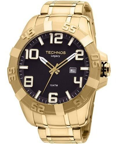 Relógio Technos Masculino Analógico Dourado 2315-aba