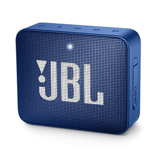 Jbl Go 2 Portable Bluetooth Waterproof Speaker (deep Sea Bl