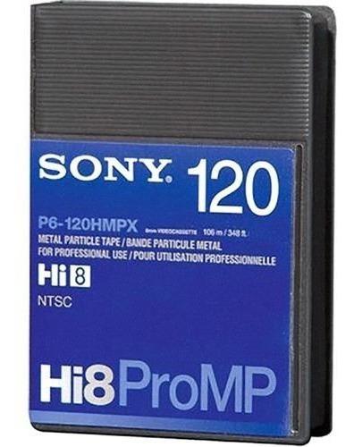 Fita Hi8 Pro Sony P6-120hmpx