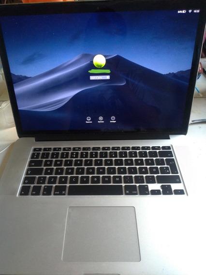 Macbook Pro Mid 2012 15 I7 2,6 Ghz 8gb Ram // Sdd 512gb