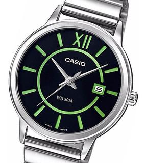 Reloj Hombre Casio Cod: Mtp-e134d-1b Acero Sumergible