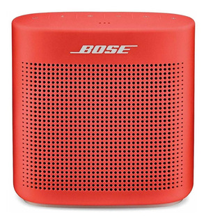 Parlante Bose SoundLink Color II portátil inalámbrico Coral red