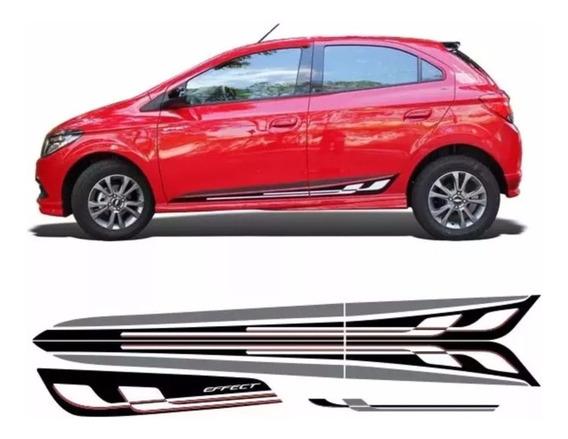 Faixa Effect Onix Carro Vermelho Otima Qualidade Verniz Uv
