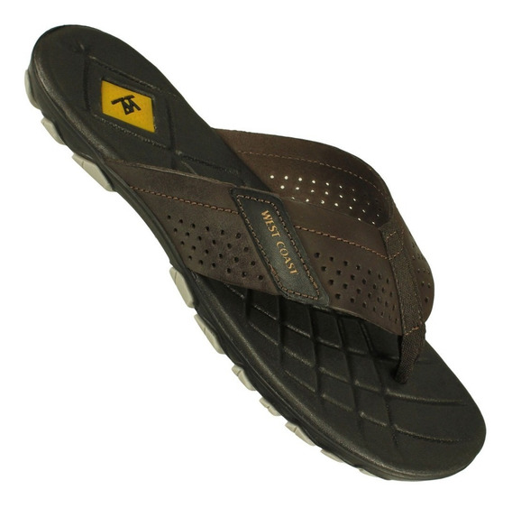 Chinelo West Coast Nobuck Extreme Masculino Casual Freecs