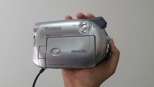 Filmadora Canon Ivis Dc200