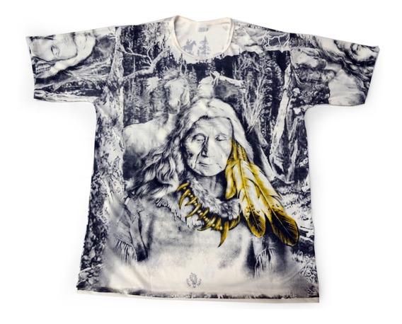 Camiseta Índio Americano Unissex