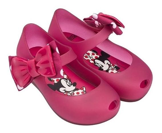 Sapatilha Infantil - Mini Melissa Ultragirl + Minnie
