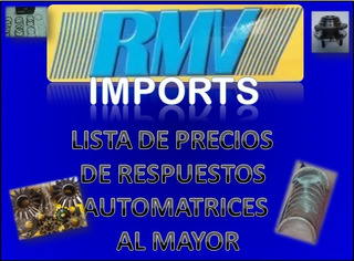 Lista Precio Repuesto Automotriz Al Mayor (ofertar)