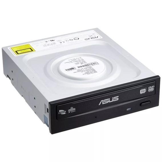 Gravador Dvd Sata 24x Drw24f1mt Asus Preto Com Logo 10 Unid.