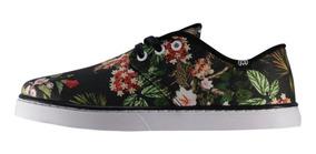 Tênis Floral Hocks Del Mar Originals Slim Original + Frete