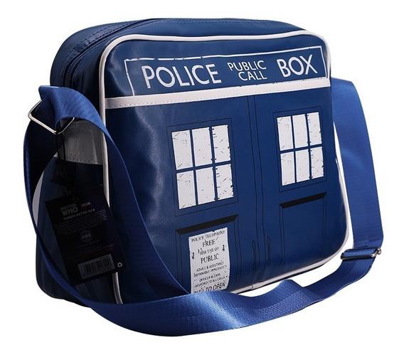 Bolsa Ombro Tardis Doctor Who Azul
