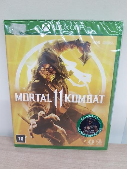 Mortal Kombat 11 Xbox One Com Dlc Lacrado Física Português