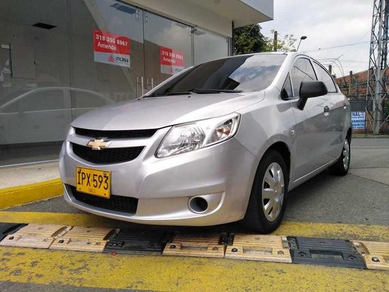 Chevrolet Sail Ls Gris Plata